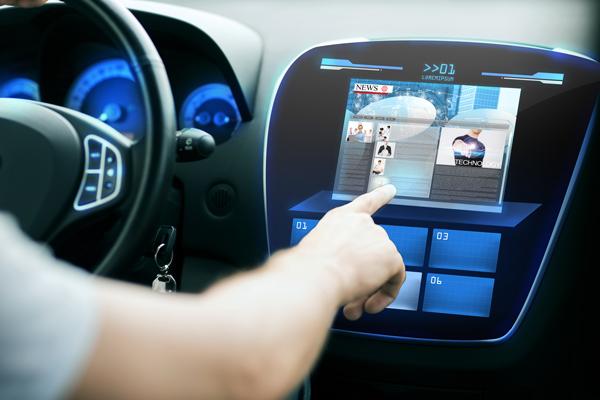 ecran tactile de voiture