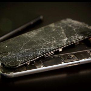 smartphone brisé